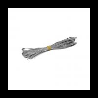 Wedding Garter Elastic - Silver