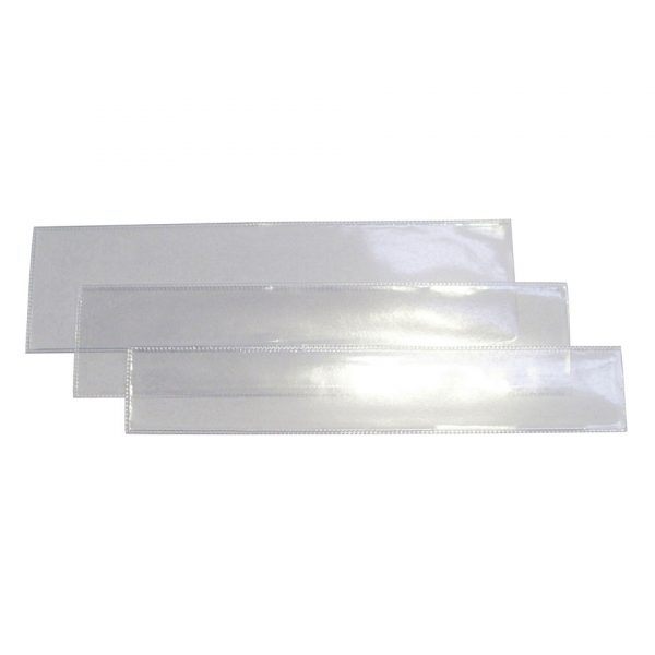 Bookmark Sleeves Clear Clear