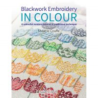 Blackwork Embroidery in Colour