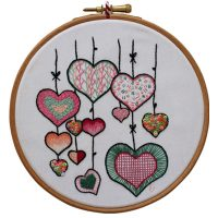 Hearts - Pink and Red