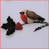 Birds of Britain - The Christmas Robin